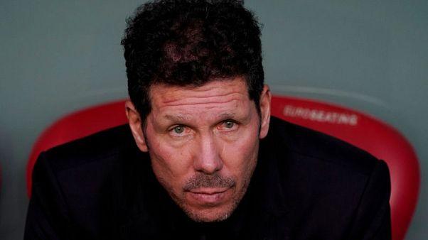 Simeone demands Atletico show true colours against Barca