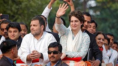 In Indian election, Gandhi sibling charms but may struggle to win votes