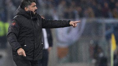 Milan: Gattuso, con Juve per ripartire