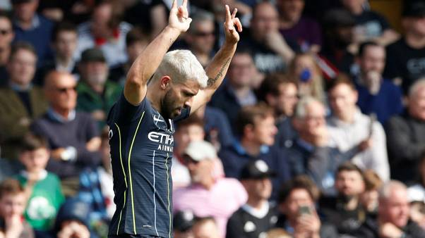 Man City's Aguero in frame to face Brighton in FA Cup
