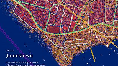 Siemens launches FABRIC – Turning urban data into a dynamic visualization of Jamestown