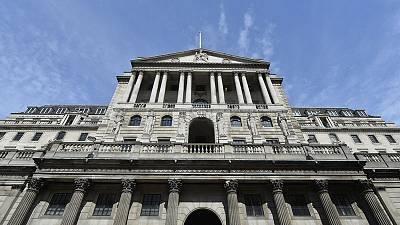 Police declare suspicious packages sent to Bank of England as safe