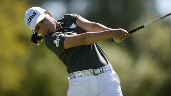 Kim takes clubhouse lead at ANA with eight birdies