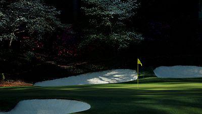Golf - Amateur women opt for caddies over daddies at Augusta