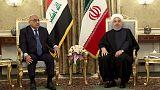 روحاني يقول إيران مستعدة لتوسيع تجارة الطاقة والغاز مع العراق