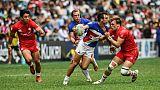 Circuit mondial de rugby à VII: les Bleus en quarts de finale à Hong Kong