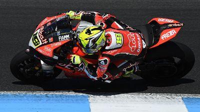 Superbike:Aragon, Bautista parte davanti