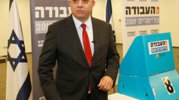 Avi Gabbay, à la tête du parti travailliste, le 11 février 2019 à Tel-Aviv