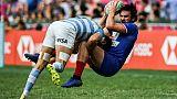 Circuit mondial de rugby à VII: sans-faute pour les Bleus à Hong Kong