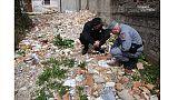 Sospetto resti umani in rifiuti cimitero