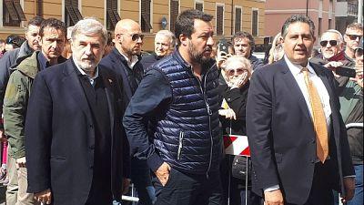 Salvini vede cittadini 'zona arancione'