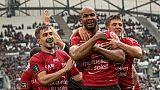 Top 14: fin de série pour Toulouse, battu par Toulon après 14 matches sans défaite
