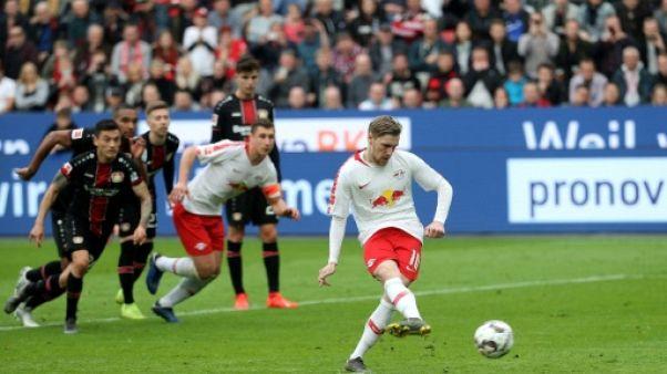 Allemagne: Leipzig consolide sa troisième place avant le choc Munich-Dortmund
