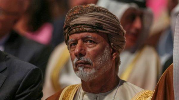 """Oman appelle les pays arabes à apaiser les """"craintes d'Israël"""""""