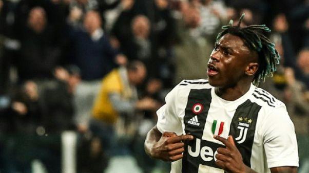 Italie: Kean amène la Juventus à un pas du titre