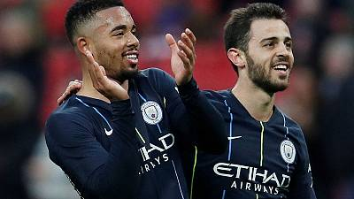 Early Jesus goal sends Man City into FA Cup final