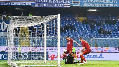 Serie A: Sampdoria-Roma 0-1