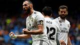 Espagne: Benzema, capitaine et sauveur du Real