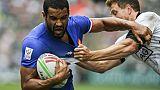 Circuit mondial de rugby à VII: la France  surprend la Nouvelle-Zélande en quarts