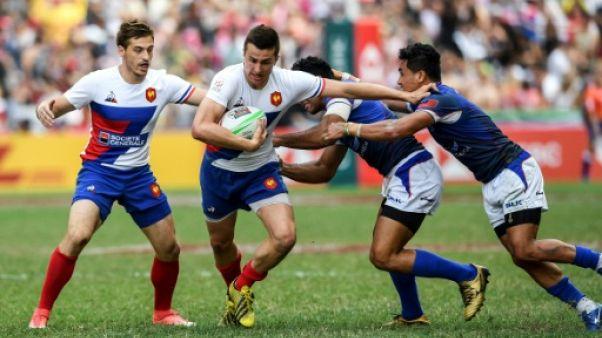 Circuit mondial de rugby à VII: les Bleus de nouveau en finale, à Hong Kong