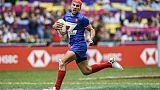 Circuit mondial de rugby à VII: la France battue en finale par les Fidji