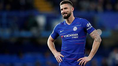 Sarri wants to retain Giroud at Chelsea next season