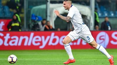 Applausi e qualche fischio per Icardi