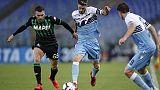 Serie A: Lazio-Sassuolo 2-2