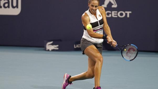 Tennis - Keys defeats Wozniacki for first time to claim Charleston title