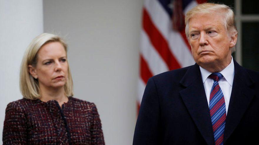 U.S. Homeland Security Secretary Nielsen resigns