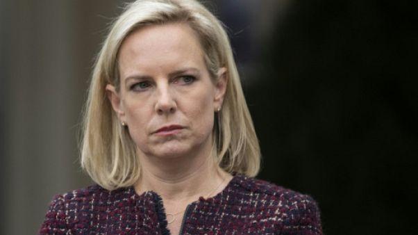 Trump annonce le départ de sa ministre chargée de l'immigration