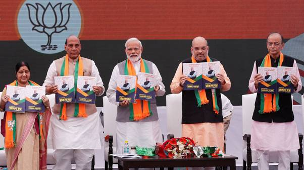 India's Modi makes election vow to remove Kashmir's special rights