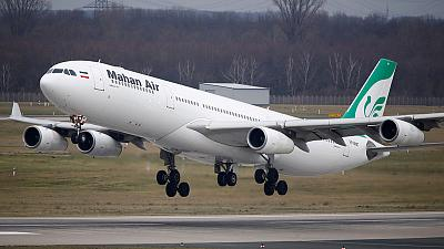 Iran's Mahan Air launches direct flights to Venezuela