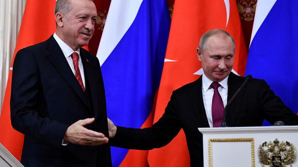 وكالة: أردوغان سيناقش عملية تركية محتملة في سوريا مع بوتين
