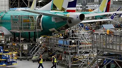 Boeing's 737 production cut hits suppliers' shares