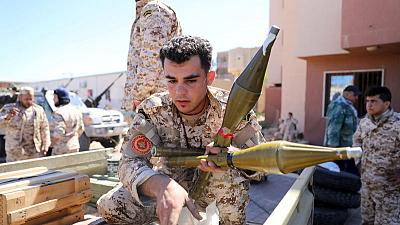 Battle rages for Libya's capital, airport bombed