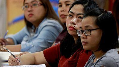 Filling 'Brexodus' gap, Filipino nurses find English tests too daunting