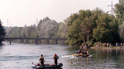 Cadavere nel fiume Adda nel Milanese