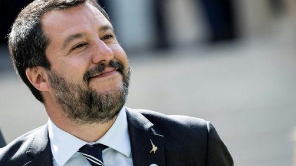 Européennes: Salvini lance un appel pour une alliance des souverainistes