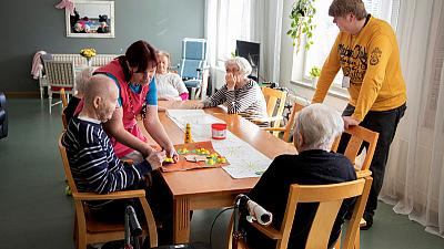 Care home scandal nudges Finland's voters back toward Social Democrats