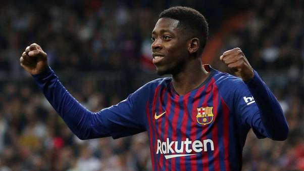 Dembele named in Barcelona squad to face Manchester United