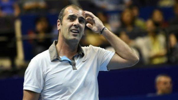 Tennis: Pioline aux côtés de Jérémy Chardy