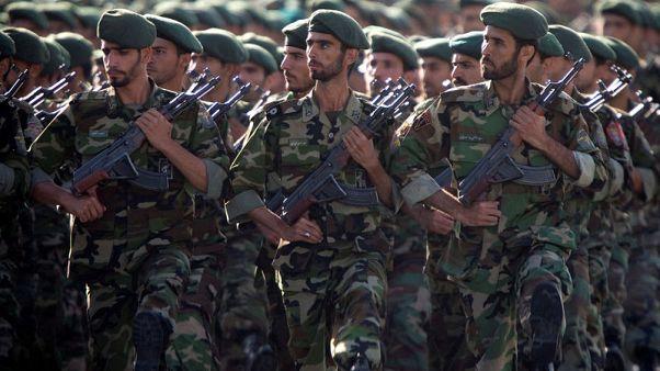 التلفزيون الإيراني: تصنيف واشنطن الحرس الثوري منظمة إرهابية غير قانوني