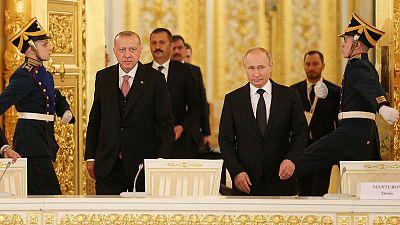 Russia, Turkey will continue efforts to establish peace in Syria - Putin