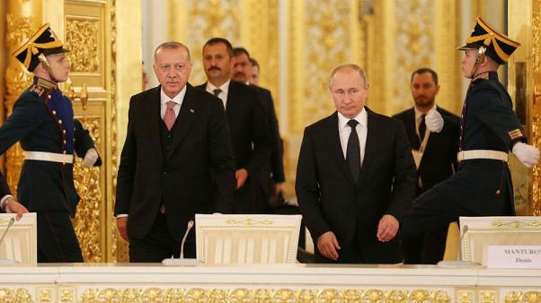Russia, Turkey will continue efforts to establish peace in Syria - Putin