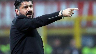 """Milan: Gattuso """"Con la Lazio una finale"""""""