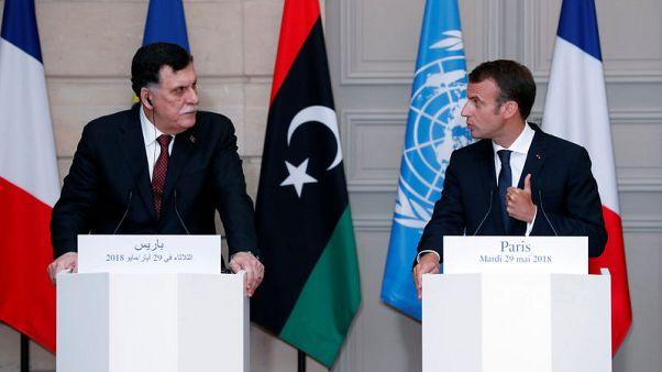 رئيس الوزراء المدعوم من الأمم المتحدة في طرابلس يتلقى مكالمة هاتفية من ماكرون