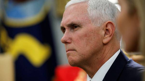 U.S., Brazilian vice presidents discuss Venezuela pressure at White House