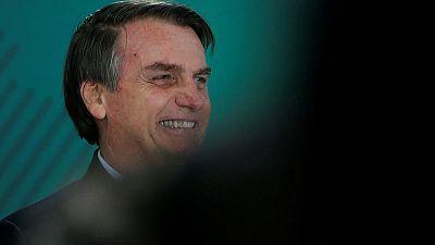 Brazil's Bolsonaro wants U.S. to join development plan for the Amazon
