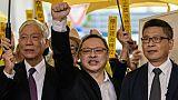 """""""Parapluies"""" de Hong Kong: des figures de la démocratie reconnues coupables"""